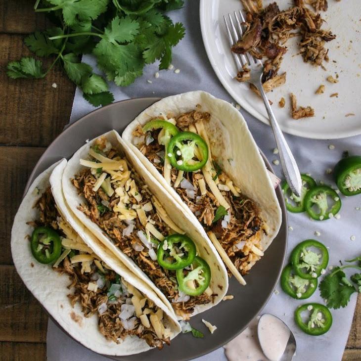 Small Batch Spicy Pork Carnitas Recipe