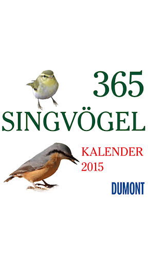 365 Singvögel 2015 – DuMont