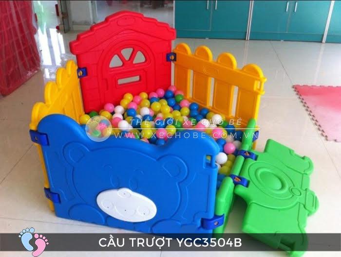 Nhà banh mini cho bé YGC-3504B 4