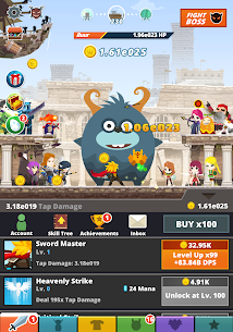 Tap Titans 2 MOD (Unlimited Money) 7