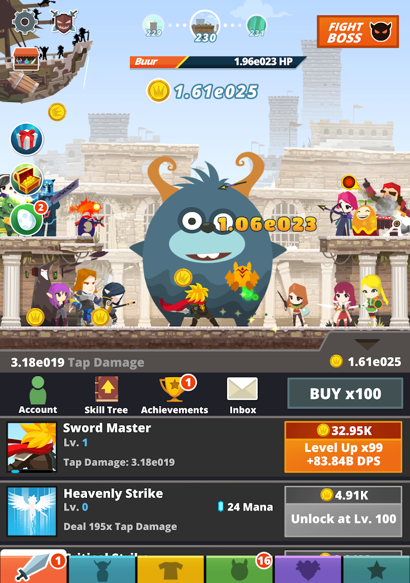 Tap Titans 2 Screenshot 6