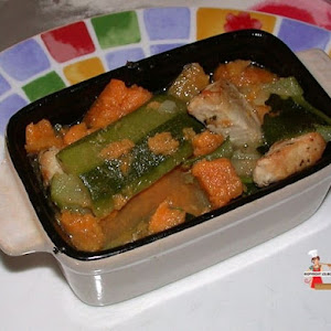 Tagine of Sweet Potatoes and Zucchini