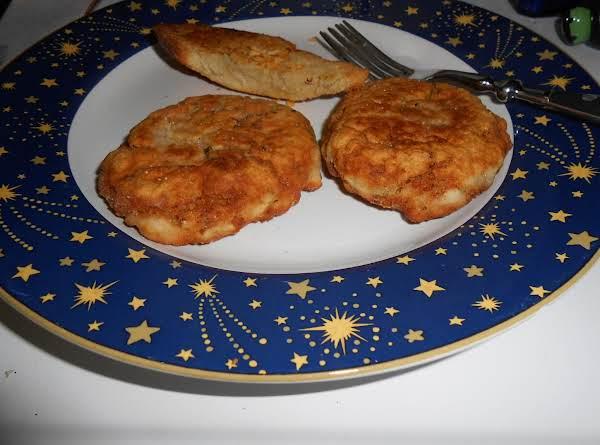 Crispy Salmon Patties
