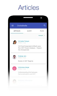 CAclubindia- Tax and Query App - náhled