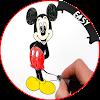 comment dessiner miky mouse et friend APK
