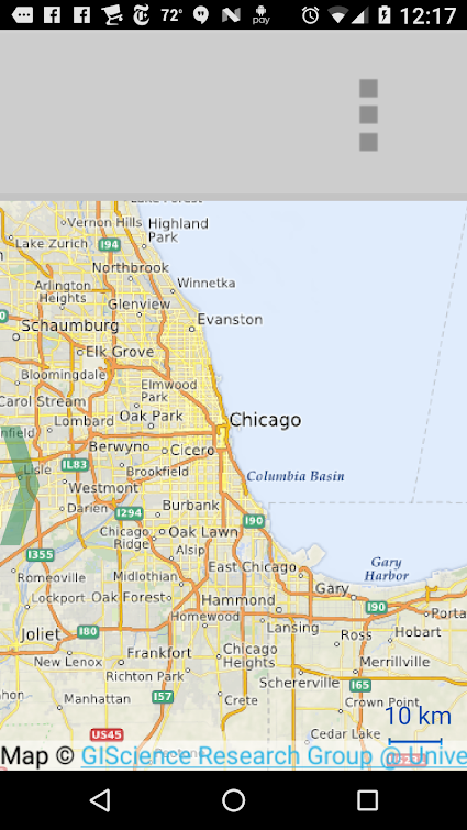 Menubar too tall in QML Map Viewer Example on Android | Qt Forum