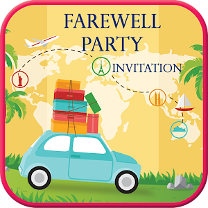 Farewell party invitation card maker android apps on google play farewell party invitation card maker stopboris Choice Image