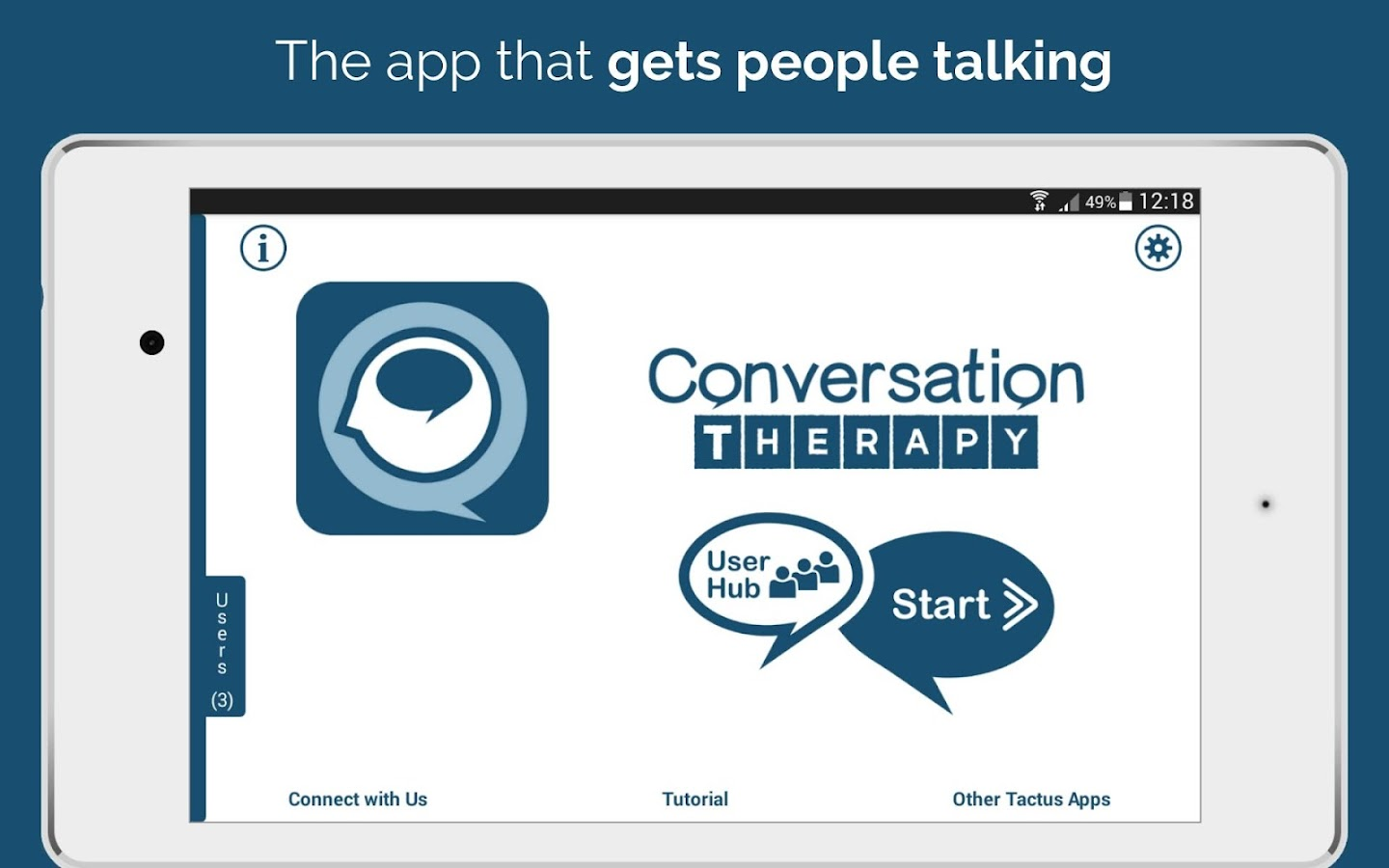 Conversation Therapy- screenshot