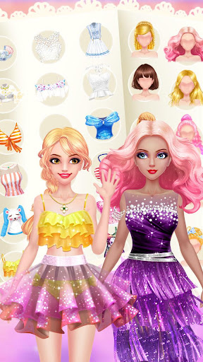 Fashion Shop - Girl Dress Up apkpoly screenshots 10
