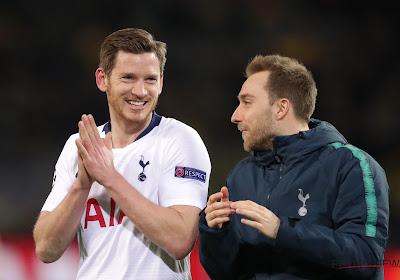 OFFICIEL: Jan Vertonghen va finir la saison à Tottenham