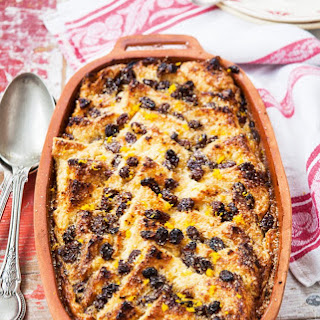 Bread & Butter Pudding with Pedro Ximénez Sherry.