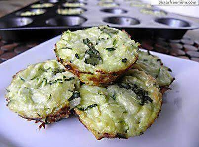 Mini Zucchini Cheese Bites Recipe