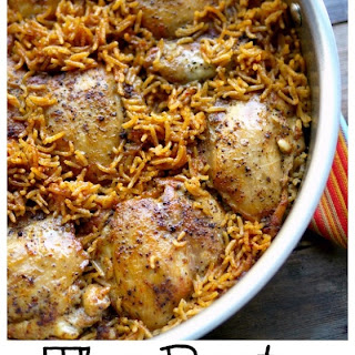 The Best One Pot-Stove Top Chicken and Rice Recipe
