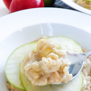 Peanut Butter and Apple Rice Pudding Recipe