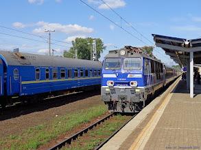 """Photo: EP09-015, EIC """"Górnik"""" Warszawa Wschodnia - Wrocław Główny {Warszawa Zachodnia; 2014-07-13}"""