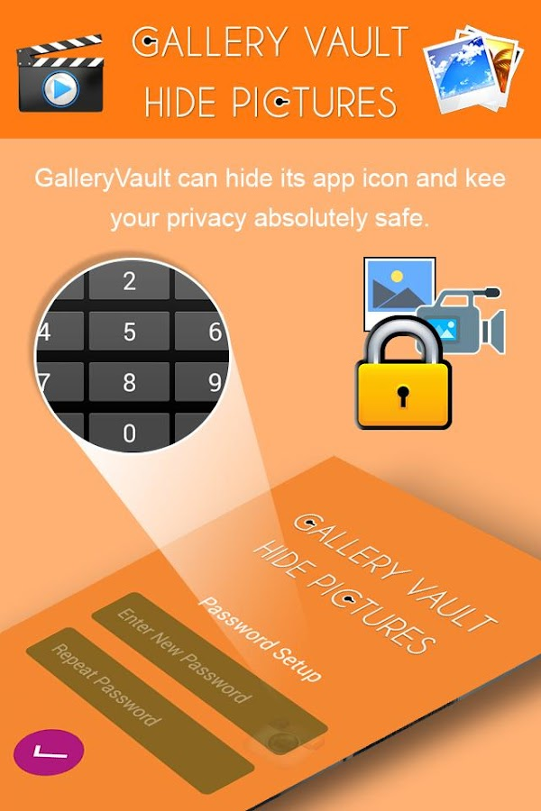 Secrete Photo & Video Lock- screenshot