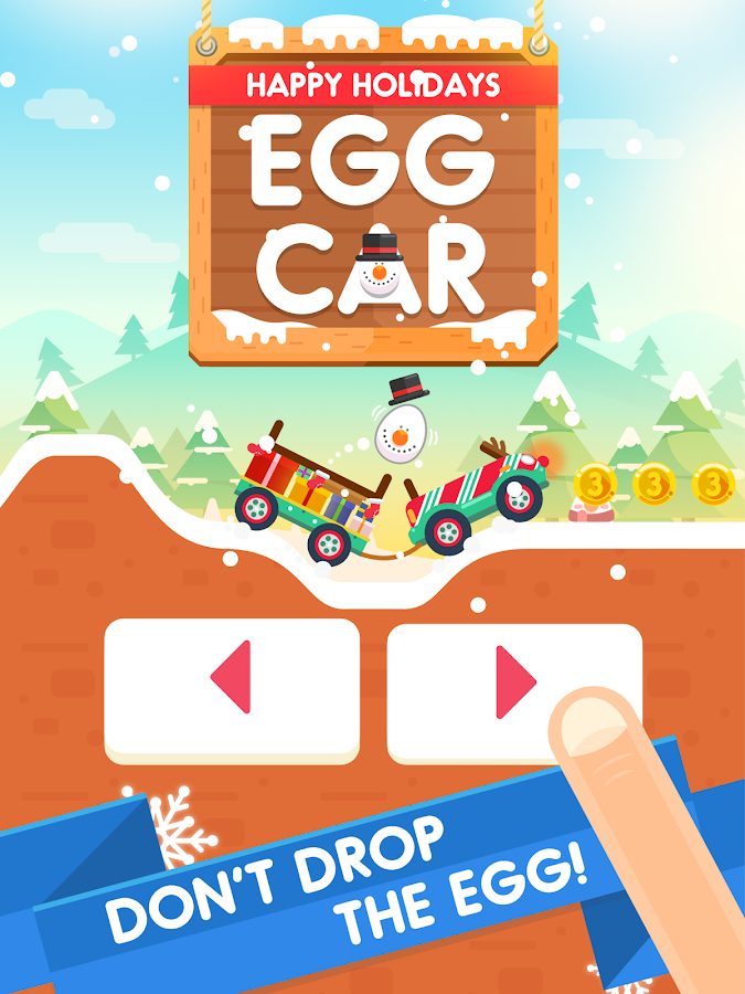 Egg Car - Don't Drop the Egg!- screenshot