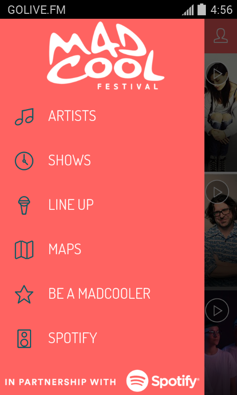 Mad Cool Festival- screenshot