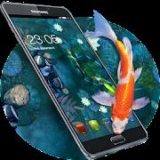 Koi Pond Lucky Fish Theme: Japanese style