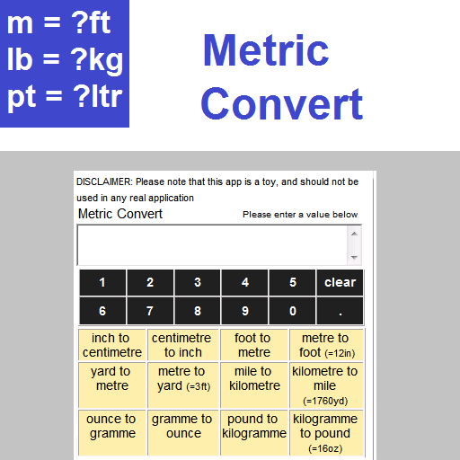 Metric Convert (app)