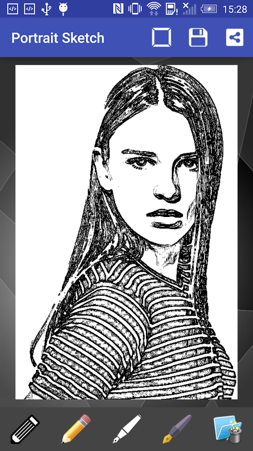 Portrait Sketch- screenshot