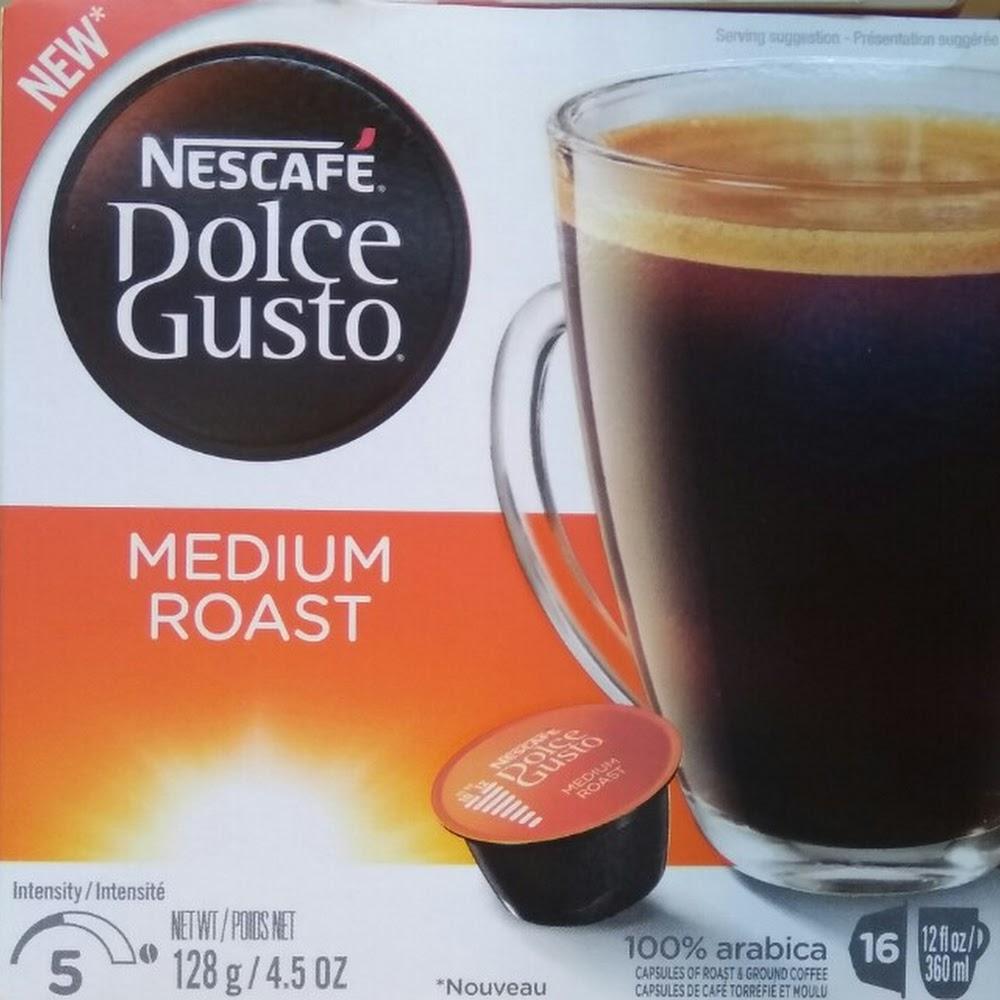 Nescafe Dolce gusto MEDIUM ROAST capsules