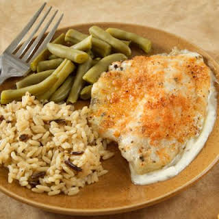 Baked White Fish Fillets.