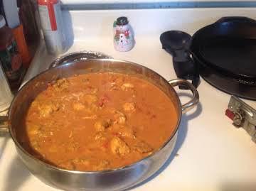 Tim's Chicken Curry
