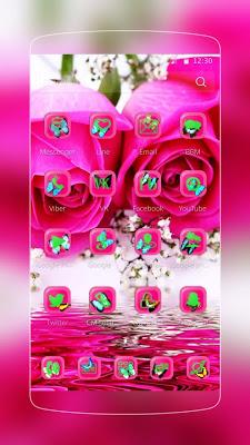 Pink Rose Butterfly - screenshot