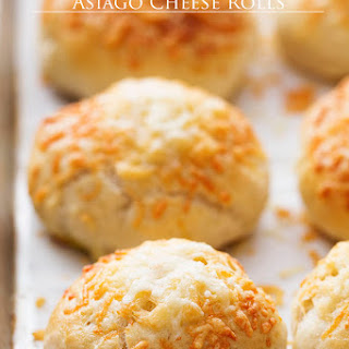 30 minute Asiago Cheese Rolls
