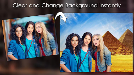 Background Eraser : Changer