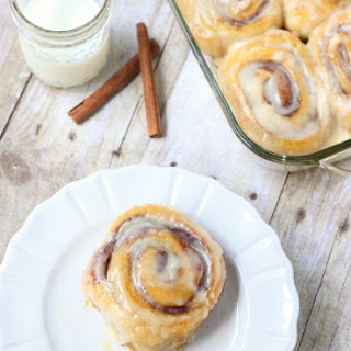 Easy, Three Ingredient Cinnamon Rolls