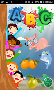 Alphabet learning with animals and fruits - náhled