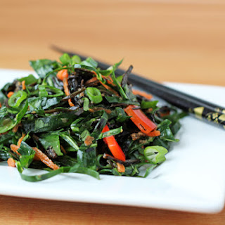 Gingered Sea Vegetable Salad