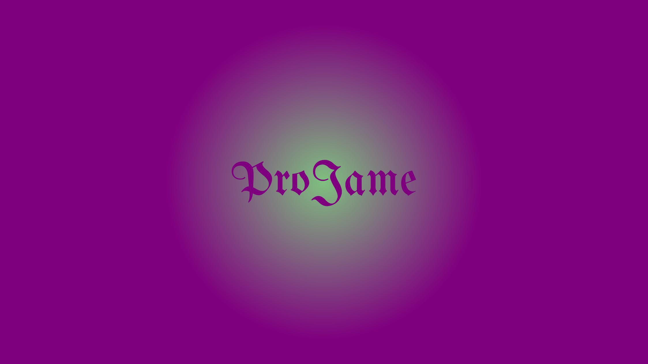 ProJame