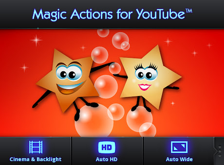 Magic Actions for YouTube™