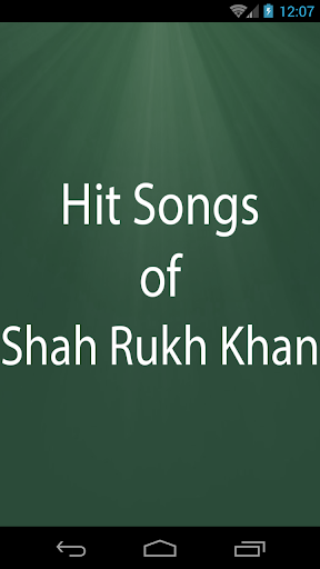 Hit Songs of Shah Rukh Khan