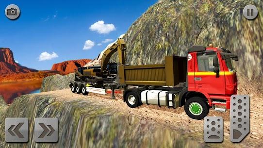 Sand Excavator Truck Driving Rescue Simulator game 5