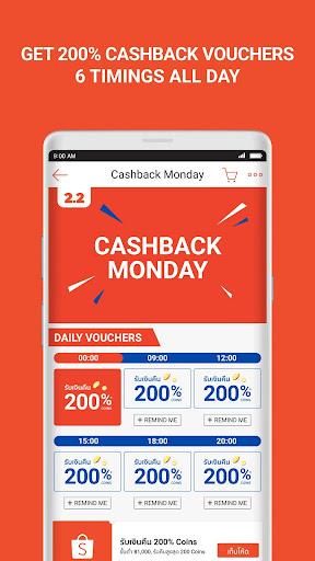 Shopee 2.2 Cashback Sale screenshots 3