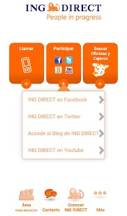 ING DIRECT Negocios- screenshot thumbnail