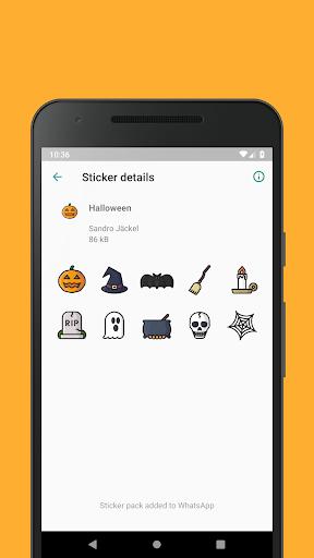 Emoticons Sticker Pack for WhatsApp 0.2.10 screenshots 6