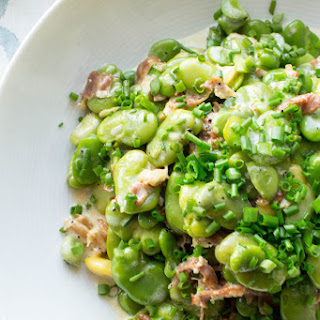 Prosciutto and Cream Fava Beans