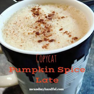 Copycat Skinny Pumpkin Latte