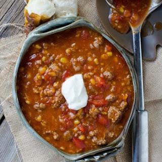 Crock Pot Camp Stew.