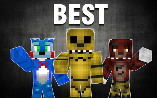 Top FNAF skins for Minecraft