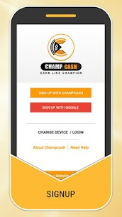 Champcash -Digital India App to Earn,Learn and Fun 3.46 [Mod + APK] Android 1