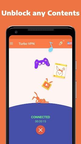 Turbo VPN- Free Proxy Server & Secure VPN Service Screenshot
