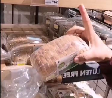 South African vlogger Devdondidit couldn't believe that gluten-free bread at Woolworths cost R54.