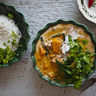 Thai Chicken & Mango Curry in 30 minutes.