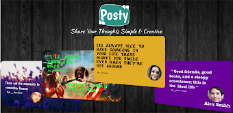 Posty - Share Personalize Card